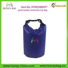 Hot Sell Custom logo Tarpaulin Waterproof Dry Sack Blue Dry Bag 5L