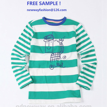 new design custom organic cotton baby t-shirt sets