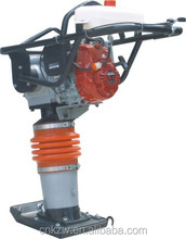 CE Vibrating gasoline sand tamping rammer compactor for HCR80K 13KN jumping jack earth rammer
