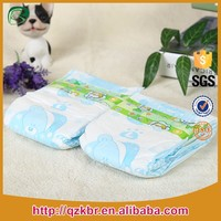 Soft Breathable Disposable Baby Fine Diapers
