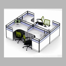 4 seat modern design office furniture office cubicles
