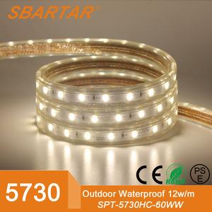 Ce RoHs PSE в списке супер яркий SMD5730 из светодиодов газа декоративные серийный огни