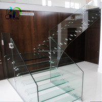 safety building laminated stair glass, Laminated glass stair