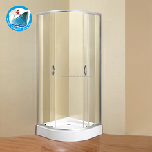 comfortable enclosed 800x1950mm Shower room/china low price free stand tray shower rooms