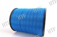 Electric fence polytape for horse in pasture,farm