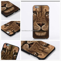 2015 Newest Tiger Head Pattern Hard Skin Case Cover For Samsung Galaxy S4 I9500 Fashion Phone Cover Case For Samsung