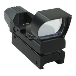 Funpowerland Tactical Duckbill Type Green & Red Dot Sight with 21mm Rail Mount