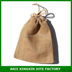natural cheap jute bags for crafts
