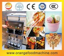 Hot sale cone pizza machine,pizza cone moulding machine,commercial ice cream cone maker