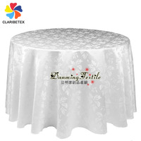 Hotel and restaurant textile Brocade Jacquard Table cloth