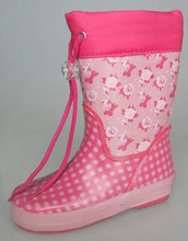 waterproof cheap soft rubber boots