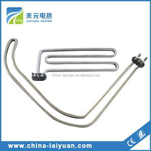 chemical solution electric immersion heater tubular heater Laiyuan manufacturer