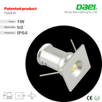 best price Factory selling new hot product 1W mini LED Cabinet Lights 90 degree china