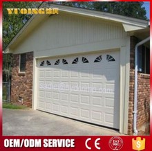 YQG-01 electric garage doors, office use canvas garage doors