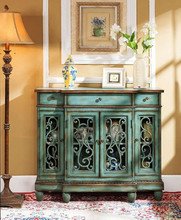 2015 China New Antique rack cabinet Living Room Furniture