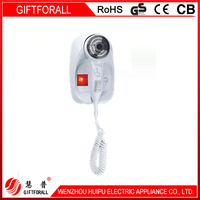 Any Color Wall Mounted Installer Hair Dryer