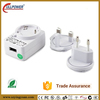 Level VI Efficiency 12v 0.5a usb charger 6w power adapter with Interchangeable Plugs