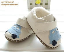 2015 new fashion leather baby shoes beautiful baby girl shoes