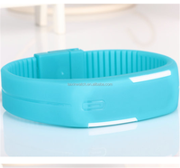 brand silicone custom Watch low price small order quantity china digital watches