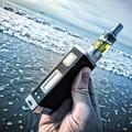 Cigarro eletrônico medidor de tensão com built in bateria durável