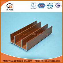 profiles of wood aluminium