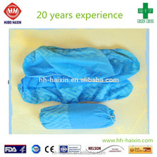disposable shoe cover made by hand latex free