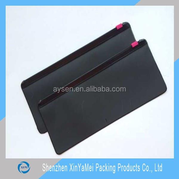 Eyeglasses Packaging PVC Zipper Bags