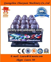 Good quality 5d simulator 5d cinema 5d theater 7d cinema big promotion for Canton Fair
