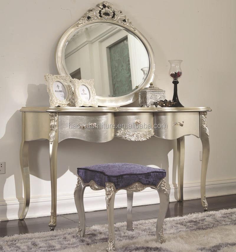 Antieke spiegel glas sm05 antieke kaptafel met spiegel en stoel antiek bladgoud frame muur - Kaptafels ontwerp ...