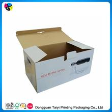 Hot sale embossed metallic foil tuck top gift boxes sale