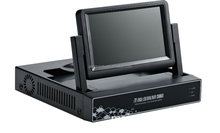 1080P HD 8 channel with 7 inch network DVR/HVR/NVR