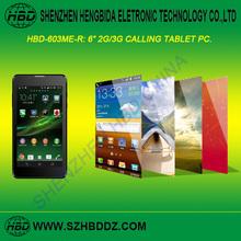 China Manufacturer 6 Inch Big Screen Dual Sim Mobile Phones