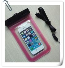 2015 Product fashion phone pvc waterproof case phone waterproof bag