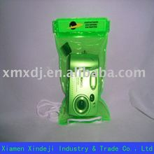 Green pvc waterproof bag for Electronics