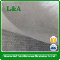 Recycled Printed Stitchbond Nonwoven Fabric For Table Cover Made in China