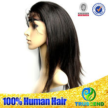 Grade 6A 100% Virgin Canbe Dyed Unprocessed Wholesale human hair lace front wigs with bangs