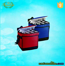 wholesale polyester insulated beer bottle cooler bag