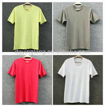 2014 cheap chinese manufacturer blank t-shirts sizing lables white hemp t-shirts unisex plain t-shirts