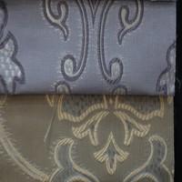 Royal bay window location polyester jacquard curtain fabric