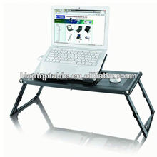 foldable laptop stand with 2 fans applicable to HP 13 inch laptop