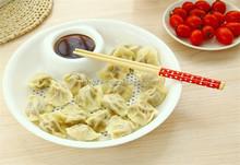 two in one dumpling dinner plate