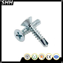 FLAT/OVAL/PAN/TRUSS/SLTTED HEX WASHER HEAD TYPE Self Drilling Screws & Self Tapping Screws