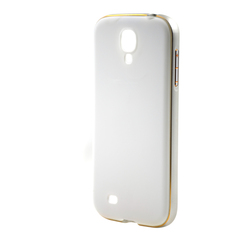 Wholesale aluminium metal bumper hard mobile phone back cover case for Samsung galaxy s4