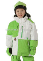 Kids winter green ski&snow wear