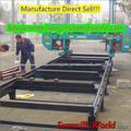 Servicio pesado máquina de sierra de cinta para madera horizontal