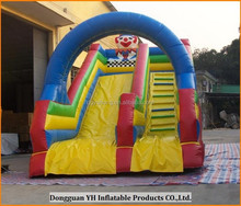 high quality 18OZ Plato PVC inflatable dry slide with CE blower