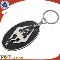 high quality designed art gifts personalized couple metal game bat keychain