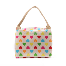 New Fashionable Lady Mini Handbag Short Handle Printed Tote Bag