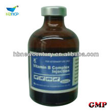 ampoule of vitamin a vitamin b complex injection