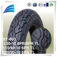 3.50-10 //110/90-10 //120/90-10 motor cycle parts electric scooter tire made in China